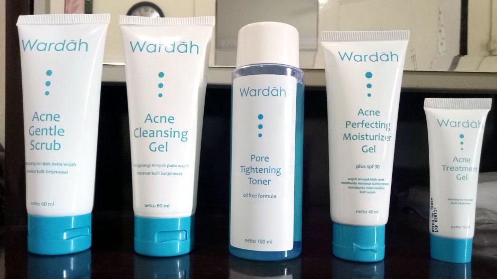 Update Rangkaian Produk Wardah Untuk Jerawat (Acne Series ...