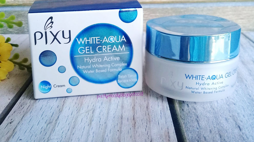 Pixy White-Aqua Gel Cream Night Cream – GitaCinta.com